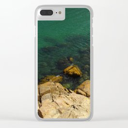 PHOTOGRAPHY / ROCK & SEA Clear iPhone Case