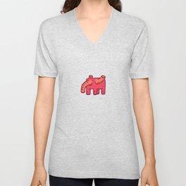 Elephant no.1 Unisex V-Neck