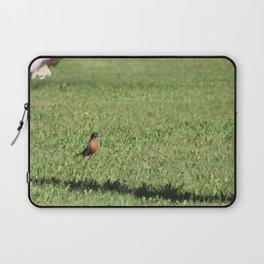 robin and dandelion Laptop Sleeve