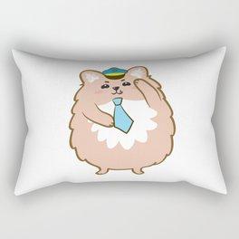 Animal Police - Pomeranian Rectangular Pillow