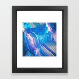 CHANNELED EROSION (everyday 09.12.15) Framed Art Print