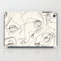girls iPad Cases featuring Girls by 5wingerone