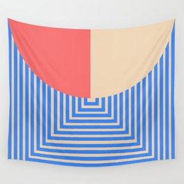 post modern geometric exit mindscape Wall Tapestry