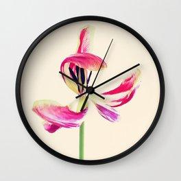 Dancing Tulip Wall Clock