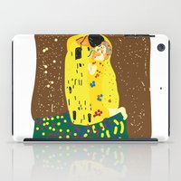 gustav klimt iPad Cases featuring klimt by John Sailor
