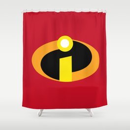 Incredibles Shower Curtain