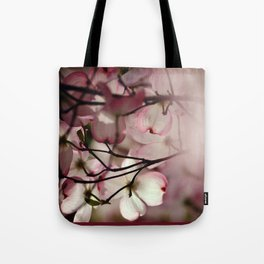 Under the Dogwood Tree Tote Bag