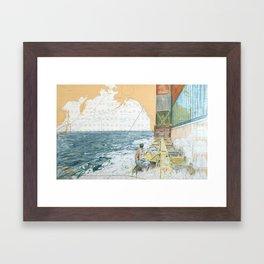 Deckwork Mid-Atlantic Framed Art Print