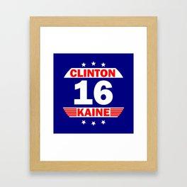 Clinton Kaine 16 Framed Art Print