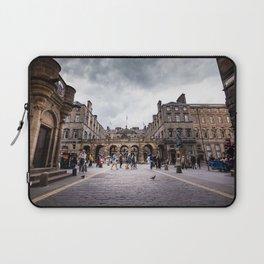 Royal Mile in Edinburgh, Scotland Laptop Sleeve