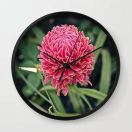 Tropical Flower: Thailand Wall Clock