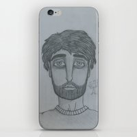 depression iPhone & iPod Skins featuring Depression by Beth Anderson