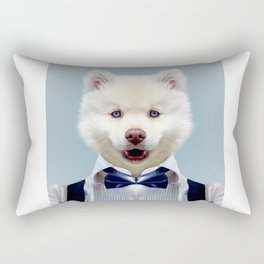 Fashion dog Rectangular Pillow