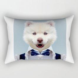 Fashion dog Rectangular Pillow