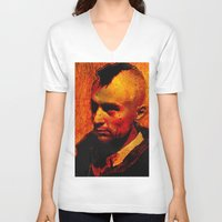 robert farkas V-neck T-shirts featuring ROBERT D. by Ganech joe