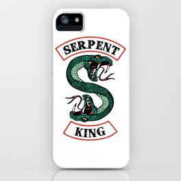 Serpent King iPhone Case
