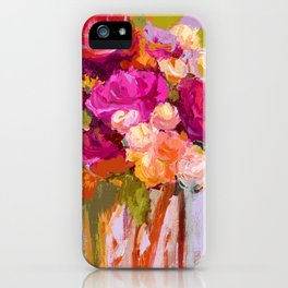 Bloom Fresh, Birthday Roses iPhone Case
