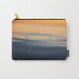 Calm sea at sunset time Carry-All Pouch
