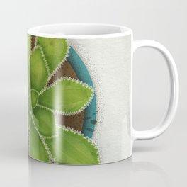 Succulent in pot Coffee Mug