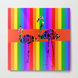 The Rainbow Connection Metal Print