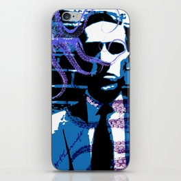 H. P. Lovecraft Poster iPhone Skin