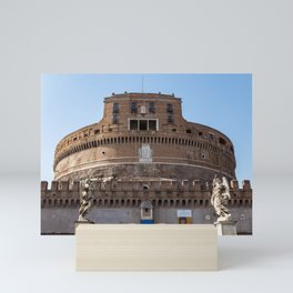 Castel Sant'Angelo - Rome, Italy Mini Art Print
