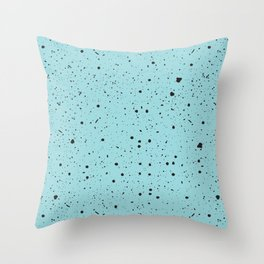 Speckled Mint Throw Pillow