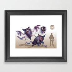 Pokemon-Gengar Framed Art Print