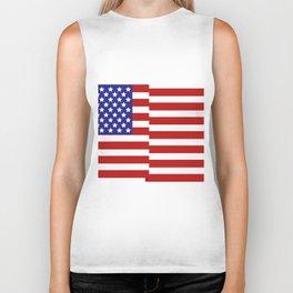 United States flag Biker Tank