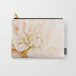 Vanilla Truffle Dahlia Carry-All Pouch