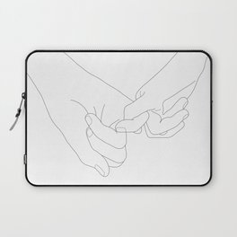 Pinky Promise Laptop Sleeve