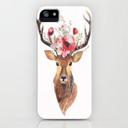 Bohemian Deer iPhone Case
