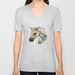 Palomino Horse - Sundance Unisex V-Neck