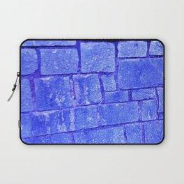Purple stone wall Laptop Sleeve