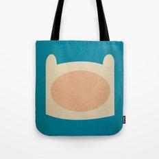 Minimalist Adventure Time Finn Tote Bag