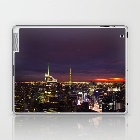 NYC from Rockefeller Laptop & iPad Skin