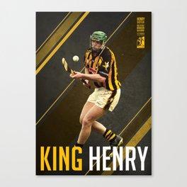 GAA Posters – Henry Shefflin Canvas Print
