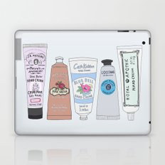 Favorite Hand Cream Collection Laptop & iPad Skin
