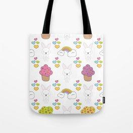 Cute rabbits Tote Bag