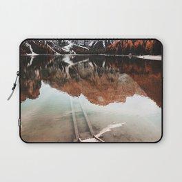 braies lake in Trentino Laptop Sleeve