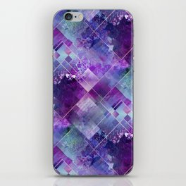 Marbleized Amethyst iPhone Skin
