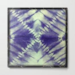 X Tie Dye Metal Print