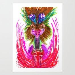 Something Aweful Art Print