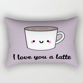 I Love You A Latte Rectangular Pillow