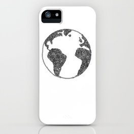 Global Flowers iPhone Case