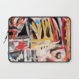 The king was there Laptop Sleeve