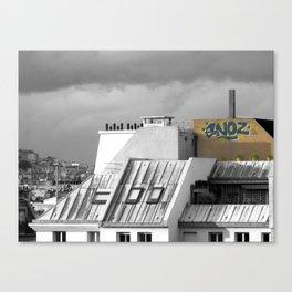 Rooftops of Paris Canvas Print