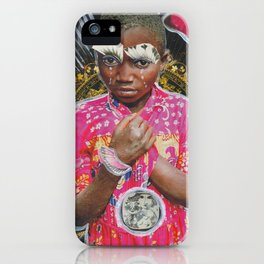 Africa is still crying iPhone Case