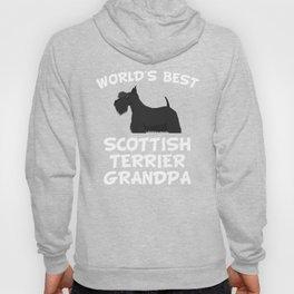 World's Best Scottish Terrier Grandpa Hoody
