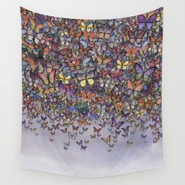 butterfly cascade Wall Tapestry